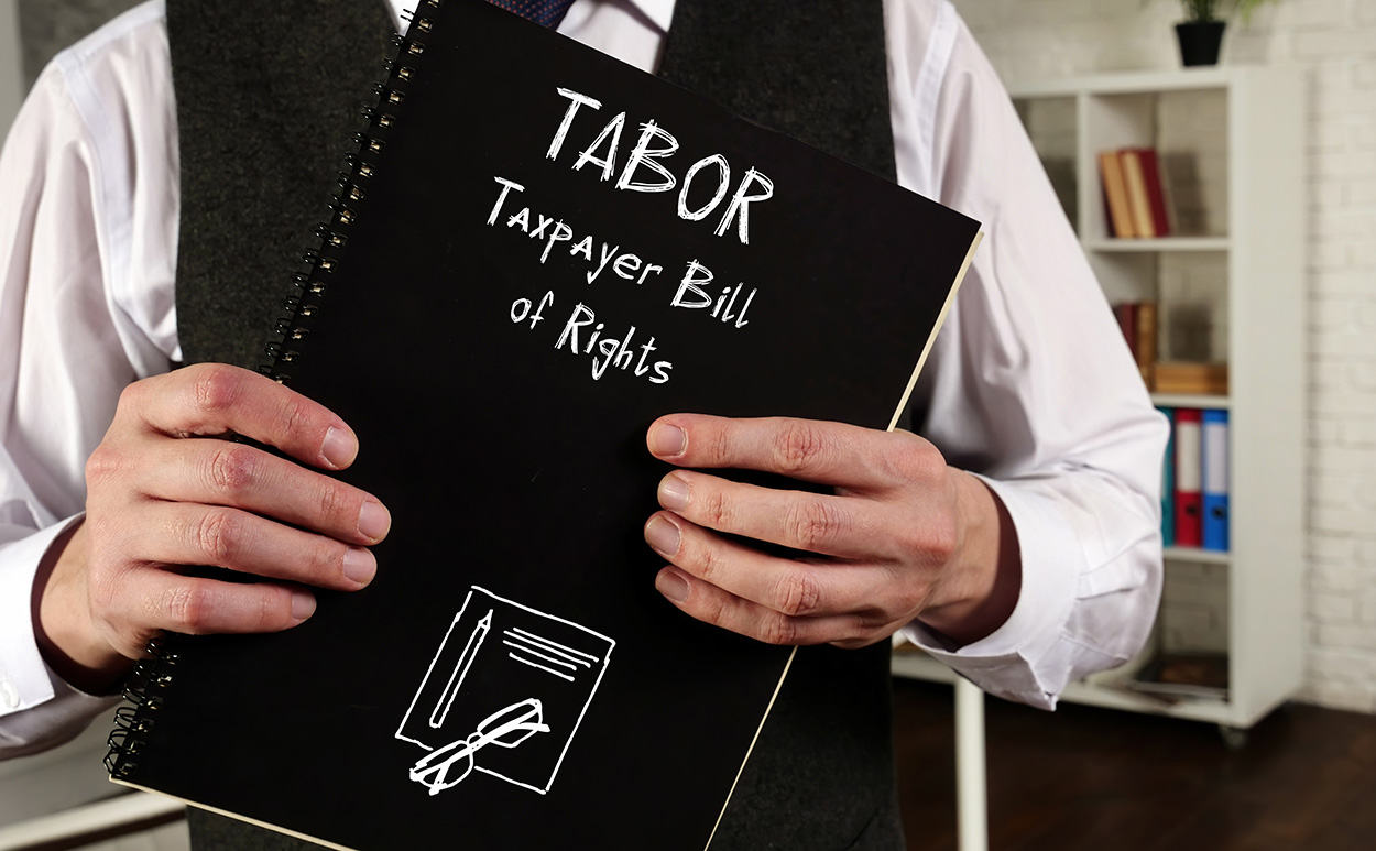 TABOR Tax payer bill of rights